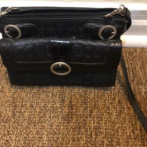 Brighton Black mini crossbody bag